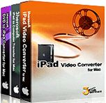 60% Off - 3herosoft iPad Mate for Mac. 3herosoft iPad Mate for Mac is powerful suite of iPad software specially designed for iPad fans. It involves three useful tools: iPad Video Converter for Mac, DVD to iPad Converter for Mac and iPad to Computer Transfer for Mac.