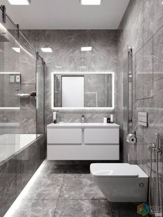 Decor Decor elegant Decor master Decor modern Bathroom Decor Bathroom Decor Монохромный интерьер ванной Are you looking for small bathroom decorating ideas? If consequently you are not alone.