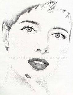 pointillism . ink pen (rotring)