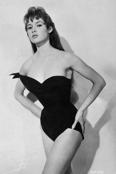 Brigitte Bardot promoting the film Doctor at Sea, 1955