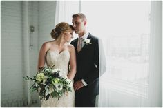Navy and champagne wedding inspiration, Stephanie + Chris, Winnipeg wedding at the Metropolitan Centre. Photos by Sugar + Soul Photography