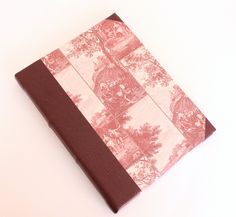 Large Leather Journal - Red Countryide by GatzBcn on Etsy