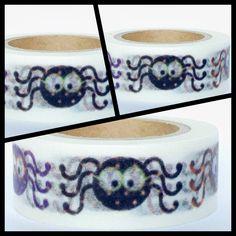 Masking Tape Washi Tape Spinnen von Fitzi Flöt auf DaWanda.com