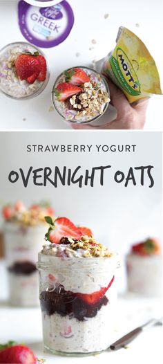 From snack-time to busy school mornings, these Strawberry Overnight Oats Jars are sure to do the trick. Make these treats ahead of time then, pair with Danimal Smoothies, and the NEW Mott's 100% Apple Juice Pouches from Kroger to make this delicious meal idea for your kids. Thanks to it's fresh flavors, this recipe is sure to be your new go-to for keeping your breakfast stress-free.