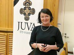 Merja Rehn Sitrasta haluaa pöhinää päälle. Kiertotalouden hengessä. Näin! Juvalla 12/2017