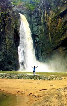 Salto Jimenoa Uno waterfall, Jarabacoa | Dominican Republic Free Travel Guide