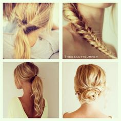 Easy hairstyle ideas!!!