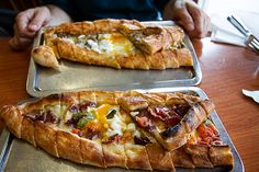 Pide in Istanbul