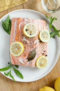Slow Cooker Poached Salmon With Lemon and Herbs | 21 Reasons To Use Your Crock-Pot This Summer