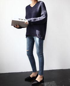 Базовый гардероб. Джинсы skinny. woman-delice.com