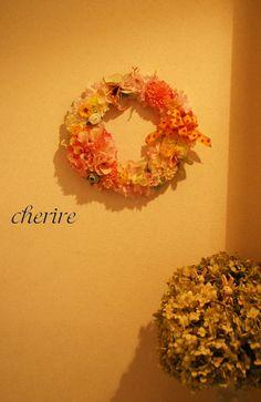 wreath pink