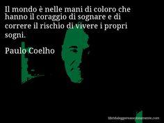 Cartolina con aforisma di Paulo Coelho (43)