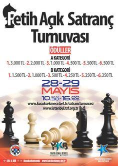 kucukcekmece-belediyesi-satranc-2016-afis-s Chess, Posters, Banners, Billboard, Poster