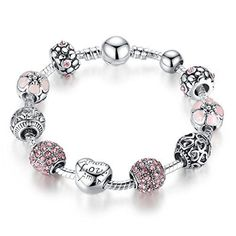 Presentski Love Charm Bracelet Girlfriend and Wife Teen Girls Birthday Gift >>> Visit the image link more details.