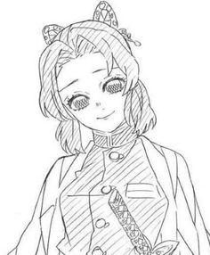 Manga Art, Manga Anime, Anime Art, Anime Drawings Sketches, Anime Sketch, Demon Slayer, Slayer Anime, Anime Angel, Anime Demon