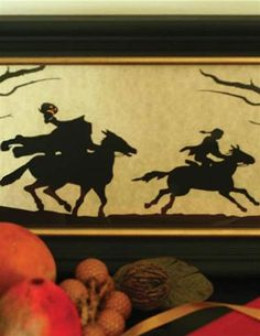 HEADLESS HORSEMAN SILHOUETTE I love this and display it!