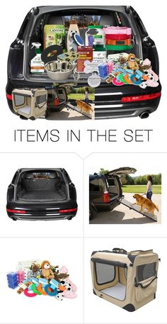 """Dog Mobile"" by hallaveryh ❤ liked on Polyvore featuring art"