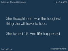 Quotes for teens short so true trendy Ideas Heart Touching Story, Touching Words, Story Quotes, True Quotes, Deep Quotes, Deep Words, True Words, School Days Quotes, Tiny Stories