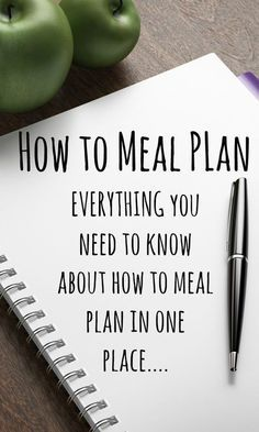 How to meal plan - EVERYTHING you need to know about how to meal plan in one…