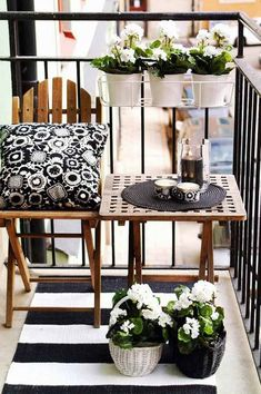 More inspirational design ideas for your balcony from the Better Balcony Company... Love your balcony:-)