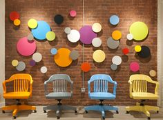 Community, furniture for public spaces - Jasper Group Brand; Sometimes all you need is snazzy coat of bright paint to breath fun into a classic!