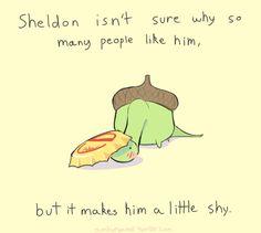 The Adorable Comic Strips Of Sheldon The Tiny Dinosaur Sheldon The Tiny Dinosaur, Cute Comics, Funny Comics, Happy Comics, Funny Cute, The Funny, Hilarious, Fandoms, Turtle Dinosaur