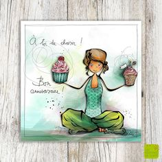 Happy Birthday Wiches : A toi le choix . Free Birthday Greetings, Happy Birthday Fun, French Cartoons, Mom Quotes From Daughter, Good Morning Images Hd, Sketch Notes, Sketch Painting, Birthday Images, Watercolor Cards