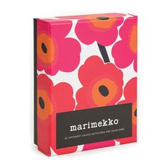 Buy Marimekko Notes online and save! Box set of cards featuring the pattern that made Marimekko famous. 20 Note Cards & Envelopes (Boxed Stationery) MARIMEKKO is a Finnish fashio. Marimekko, Holiday Fun, Holiday Gifts, Cool Office Supplies, Shops, Creative Company, Card Book, Gifts For Boss, Pretty Cards