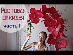 Большие Цветы | Цветы из Цветной Бумаги | Ранункулюсы Своими Руками. Часть 1 - YouTube