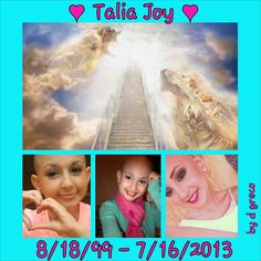 #AngelsforTalia #Taliajoy18. Pray for her loved ones. Talia was a makeup guru on YouTube only she was only 13. R.I.P talia.  We love you.