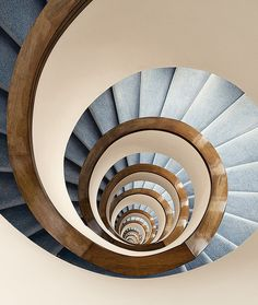 Inch Print - High quality prints (other products available) - Endless Circular Stairs - Image supplied by Fine Art Storehouse - Photograph printed in the USA Fine Art Prints, Framed Prints, Canvas Prints, Take The Stairs, Stair Steps, Staircase Design, Staircase Ideas, Modern Staircase, Ouvrages D'art