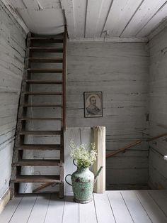 Torpdröm i gråblått och milda pasteller | ELLE Decoration