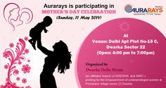 Aurarays is participating in MOTHER'S DAY CELEBRATION (Sunday, 11 May 2014) at Sector 22, Dwarka, New Delhi Organized by Dwarka Hello Moms : https://www.facebook.com/events/669462693125817