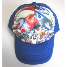 Pokemon Center 2012 Black White Kyurem Keldeo Ash & Friends Movie Version Childrens Hat