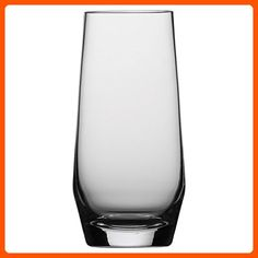 Schott Zwiesel Tritan Crystal Glass Pure Barware Collection Long Drink Cocktail Glass, 18.3-Ounce, Set of 6 - Improve your home (*Amazon Partner-Link)