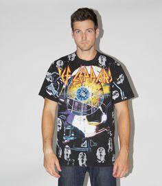 1990s Vintage Def Leppard RockT Shirt