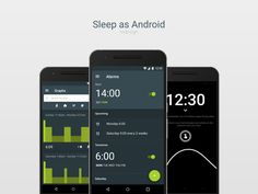 Sleep as Android redesign
