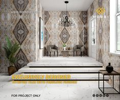 Morbitiles is a dedicated titles sourcing platform in India. We bridge the gap between Tiles Manufacturer, Architect and Builders. We make tiles procurement and selling journey simpler, smarter and faster! Wall Tiles Design, Tile Manufacturers, Architecture, Decoration, Home Goods, It Is Finished, Inspiration, Bed, Platform