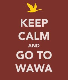 this is no joke, my life. i am willing to start a wawa in south carolina....general manager.