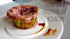 Low-carb Mini Proteinové Koláčky ~ Kristina Čechová Muffin, Low Carb, Breakfast, Mini, Food, Morning Coffee, Essen, Muffins, Meals