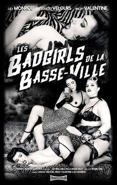 Les Badgirls de la Basse-Ville with Lily Monroe, Loulou Velours and Wildy Valentine Photo by : Frank Lam  https://www.facebook.com/WildyValentine  #burlesque #fetish #bdsm #dark #photography #franklam #loulouvelours #lilymonroe #wildyvalentine #spank #voyeur #zebra #cheetah