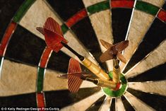 The aim in darts is typically to hit zero using as few darts as possible, and professional...