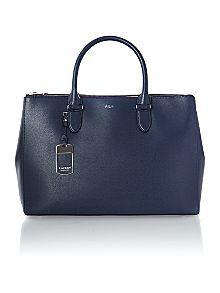 Lauren by Ralph Lauren Newbury Navy Large Tote Bag Now £248.00 Was £310.00