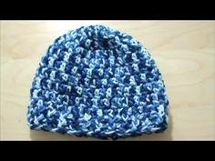 Παιδικό αντρικό σκουφάκι με βελονάκι Crochet Art, Chrochet, Crochet Projects, Beanie, Hats, Sweaters, Youtube, Fashion, Beret