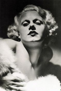 Jean Harlow, The Platinum Blonde; died of cerebral edema resulting from renal failure in June of 1937 at the young age of 26