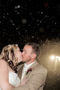 #pittsburghweddings #brideandgroom #weddingphotography, winter wedding, christmas wedding, snow picture, unique wedding, @2nd II None Productions