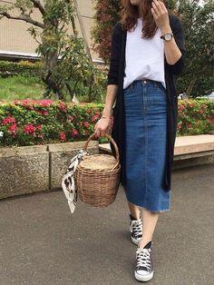 """5 item denim skirt nàng sành điệu cá tính """"nhất định"""" phải có trong tủ đồ – DISFS – Tư vấn thời trang trực tuyến"""