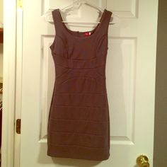 Dress! Very tight gray dress. Sexy. Zipper on the back. Worn a few times - no flaws. Ruby Rox Dresses