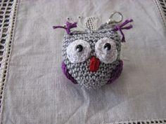AS MINHAS COISAS GIRAS: CORUJINHAS de Crochet