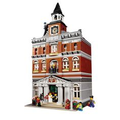 81.22$  Buy here - http://alil8y.worldwells.pw/go.php?t=32775116461 - 2016 New LEPIN 15003 2859Pcs Creators The town hall Model Building Kits  Blocks Kid Toy Gift Compatible 10224 81.22$
